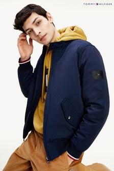 Tommy Hilfiger Blue Softshell Harrington Jacket
