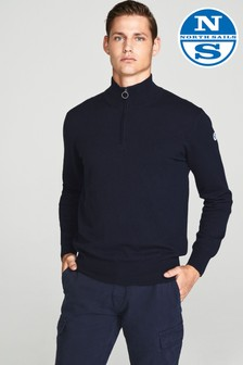 North Sails Navy Half Zip Jumper