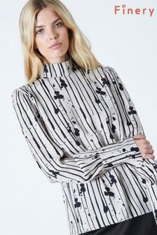 Finery London Cecilia High Neck Top