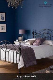 Elena Black Nickel Bed by Bentley Designs
