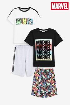 2 Pack Marvel® Short Pyjamas (3-12yrs)