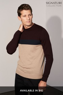 Merino Colourblock Top