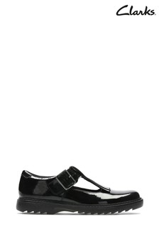 Clarks Black Asher Verve Y Shoes