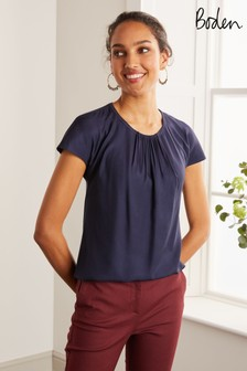 Boden Blue Florence Top