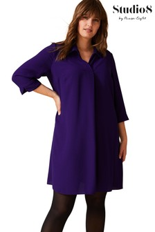 Studio 8 Purple Bette Swing Dress