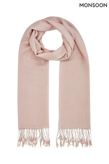 Monsoon Pink Oralee Occasion Scarf
