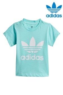 adidas Originals Infant Aqua Trefoil T-Shirt