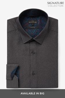 Signature Herringbone Shirt
