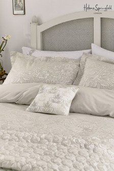 Helena Springfield Avery Jacquard Floral Oxford Pillowcase