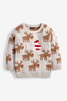 Christmas Reindeer Jumper (3mths-7yrs)