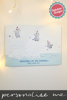 Personalised Christmas Characters Sign by Oakdene Designs