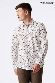 White Stuff White Scargal Print Shirt