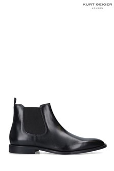 Kurt Geiger London Sloane Chelsea Black Boots