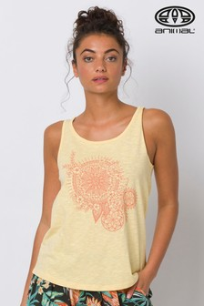 Animal Yellow Holz Graphic Vest