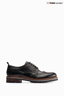 Base London® Black Colver Chunky Brogues