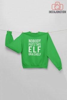 Instajunction Kids Elf On The Shelf Jumper