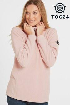 Tog 24 Pink Shire Womens Fleece Zip Neck Top