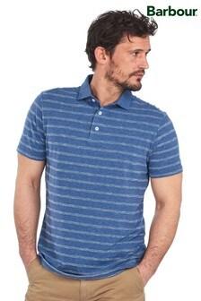 Barbour® Blue Blyth Stripe Polo