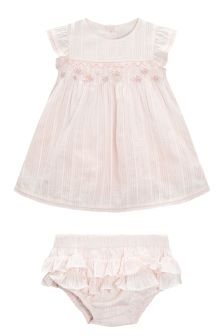 Occasion Dress With Knickers (0mths-2yrs)