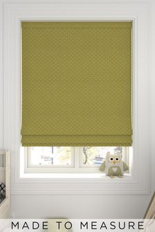 Leta Sorbet Yellow Made To Measure Roman Blind