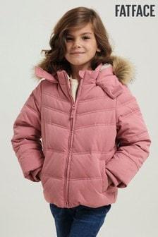 FatFace Pink Ella Coat