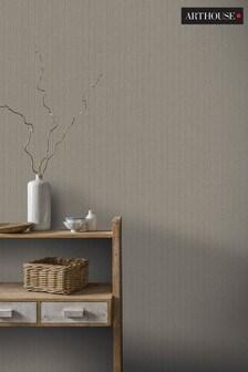 Herringbone Wallpaper by Arthouse