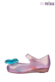 Mini Melissa Pink Little Mermaid Pumps