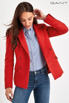 GANT Red Colourful Fall Blazer