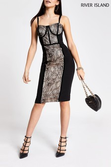 River Island Black Modena Going Out Pack Dress