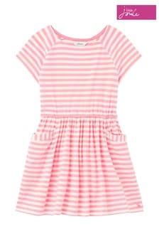 Joules White/Cream Jude Jersey Dress