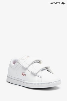 Lacoste Infant White Carnaby Evo Trainers