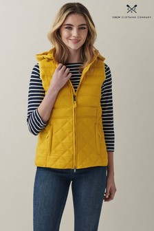 Crew Clothing Company Lightweight Mixed Baffle Gilet