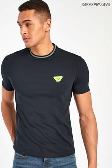 Emporio Armani Navy Emoji T-Shirt