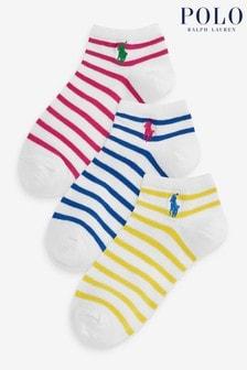 Multicoloured Logo Socks Three Pack