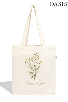Oasis Natural Printed Bag For Life