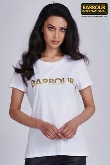 Barbour® International Metallic Logo Delta T-Shirt