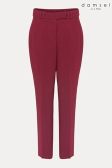 Damsel In A Dress Burgundy City Tapered Trousers