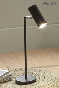 Arris Black Task Table Lamp by Pacific