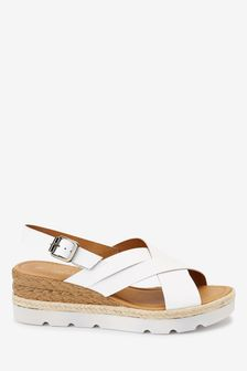 Womens White Sandals | Sizes From 35