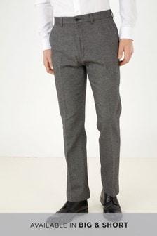 Italian Wool Herringbone Trousers