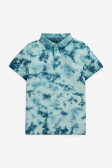 Tie Dye Polo Shirt (3-16yrs)
