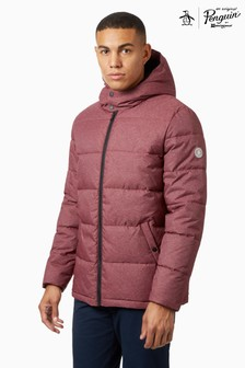 Original Penguin® Grey Heathered Padded Jacket