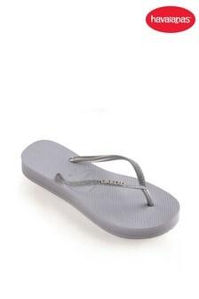 Havaianas® Slim Flatform Glitter Flip Flops