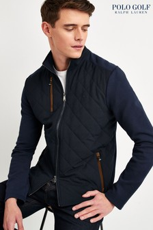 Polo Golf by Ralph Lauren Navy Hybrid Quilt Jacket