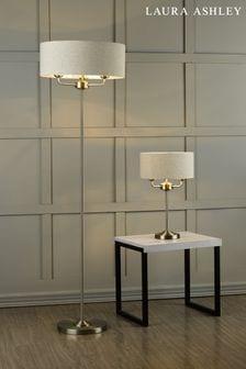 Natural Sorrento 3 Light Floor Lamp