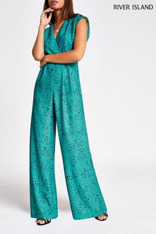 River Island Cranberry Jumpsuit