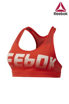 Reebok Red Hero Racer Bra