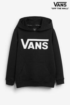 Vans Boys Black Classic Hoodie