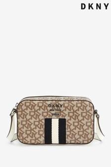 DKNY Multi Logo Webbing Liza Crossbody Bag