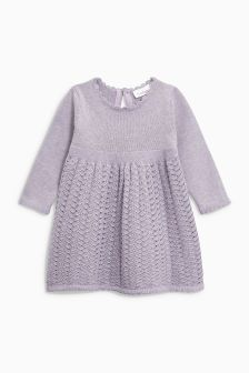 Knitted Dress (0mths-2yrs)